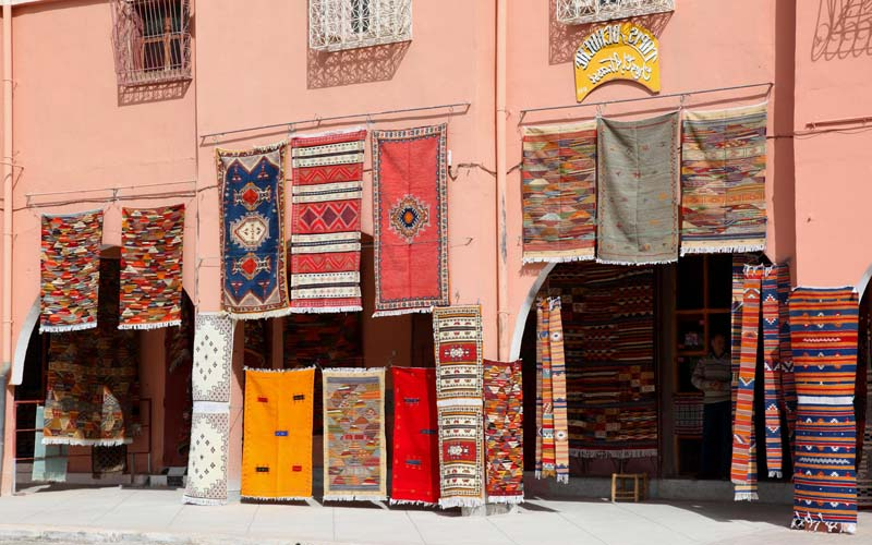 Ouzguiti Carpet  in Taznakht:  Marrakech desert tours