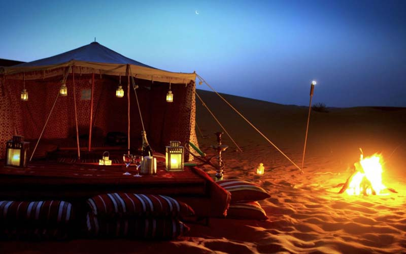 Overnight Desert Luxury Berber camp - 2 Days desert Tour From Zagora