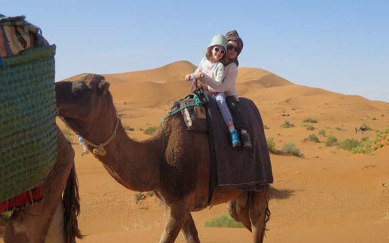 The holidays in the Moroccan desert - 2 Days and 1 night Family Tour in the Desert