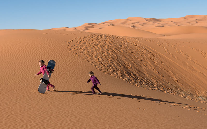 Visiting Morocco Desert with kids - Family adventure Desert holiday