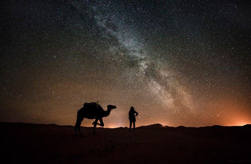 2 Magical nights in a desert camps erg lihoudi and erg chegaga sand dunes